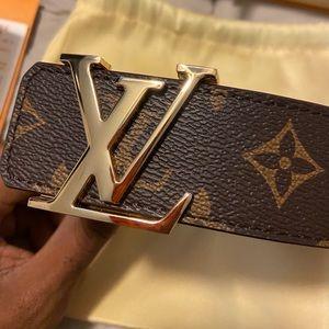 Louis Vuitton Brown Monogram Belt